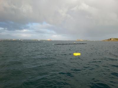 Instalacion cultivo algas marinas