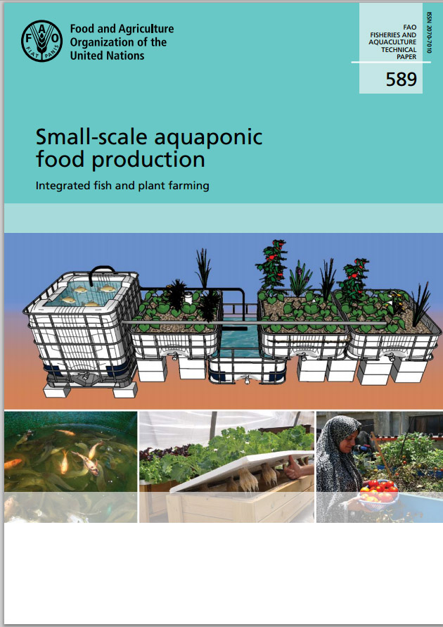 La fao publica un manual sobre acuaponia a peque a escala for Manual de acuicultura pdf