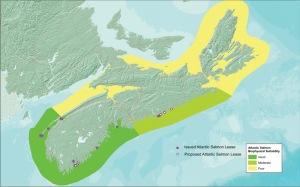Clasificacion areas de cultivo en Nueva Escocia