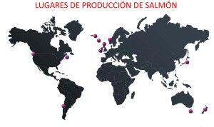 Mapa cultivo de salmon