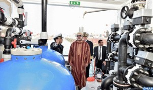 Inauguración de criadero en Marruecos por Mohammed VI